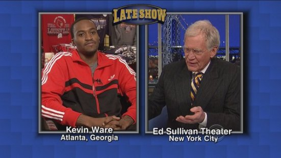 Ware making one of many talk show appearances in the ensuing days